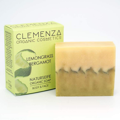 Body & Face Naturseife Lemongrass Bergamot